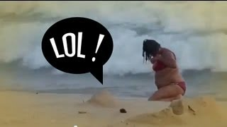 Big-Drunk-Woman-Ends-Up-Washed-On-The-Beach