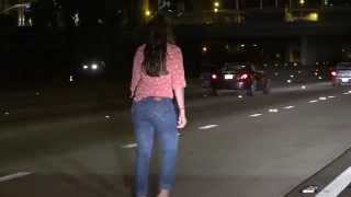 Shes-Lost-Drunk-Woman-Pees-Stumbles-In-The-Middle-Of-The-I-15-Freeway-In-San-Diego